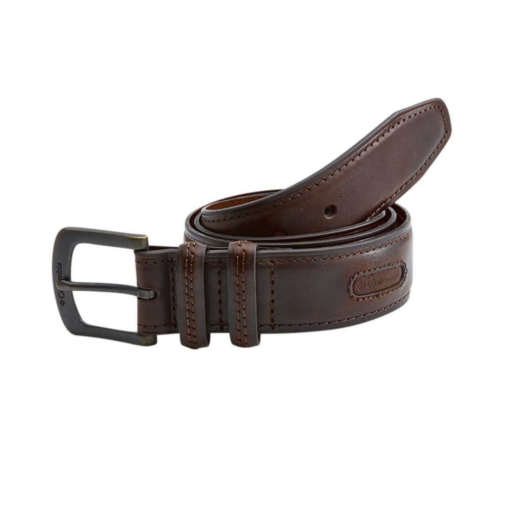 COLUMBIA Men's Double Loop Belt - BROWN
