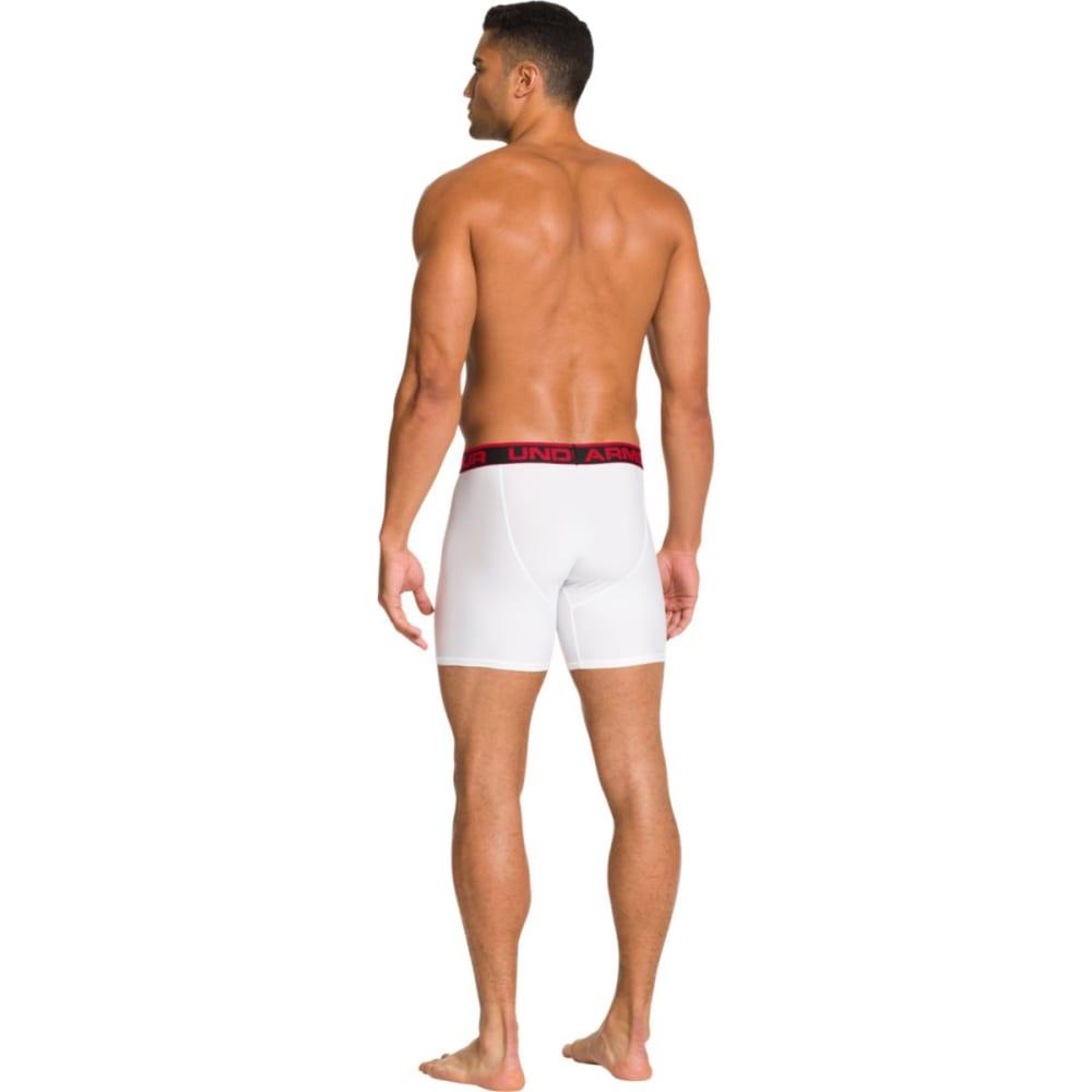 0ce209dc13 UNDER ARMOUR Men's Original Boxerjocks Boxer Briefs - WHITE