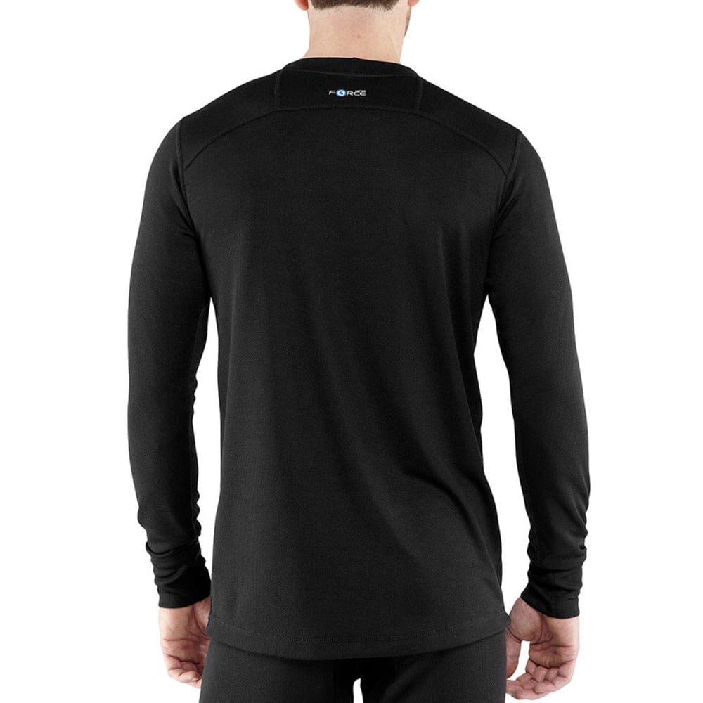 CARHARTT Men's Base Force Cold Weather Crewneck Top - BLACK 001