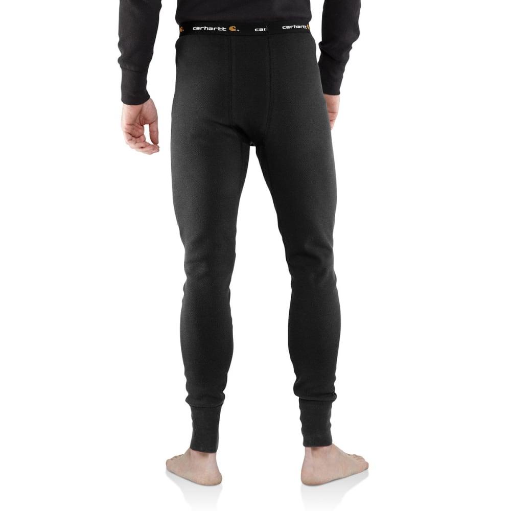 CARHARTT Men's Base Force Cotton Super-Cold Weather Bottoms - BLACK 001