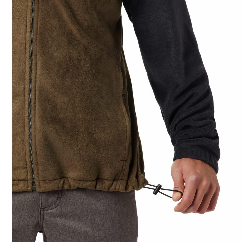 COLUMBIA Men's Steens Mountain Full-Zip  2.0 Fleece Jacket - 021 BLACK OLIVE GRN