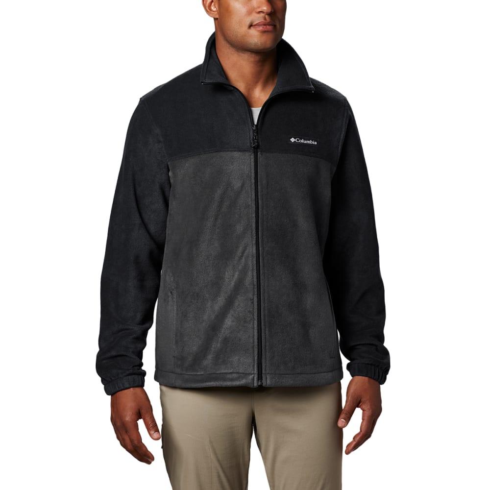 COLUMBIA Men's Steens Mountain Full-Zip  2.0 Fleece Jacket - BLACK/GRILL-011