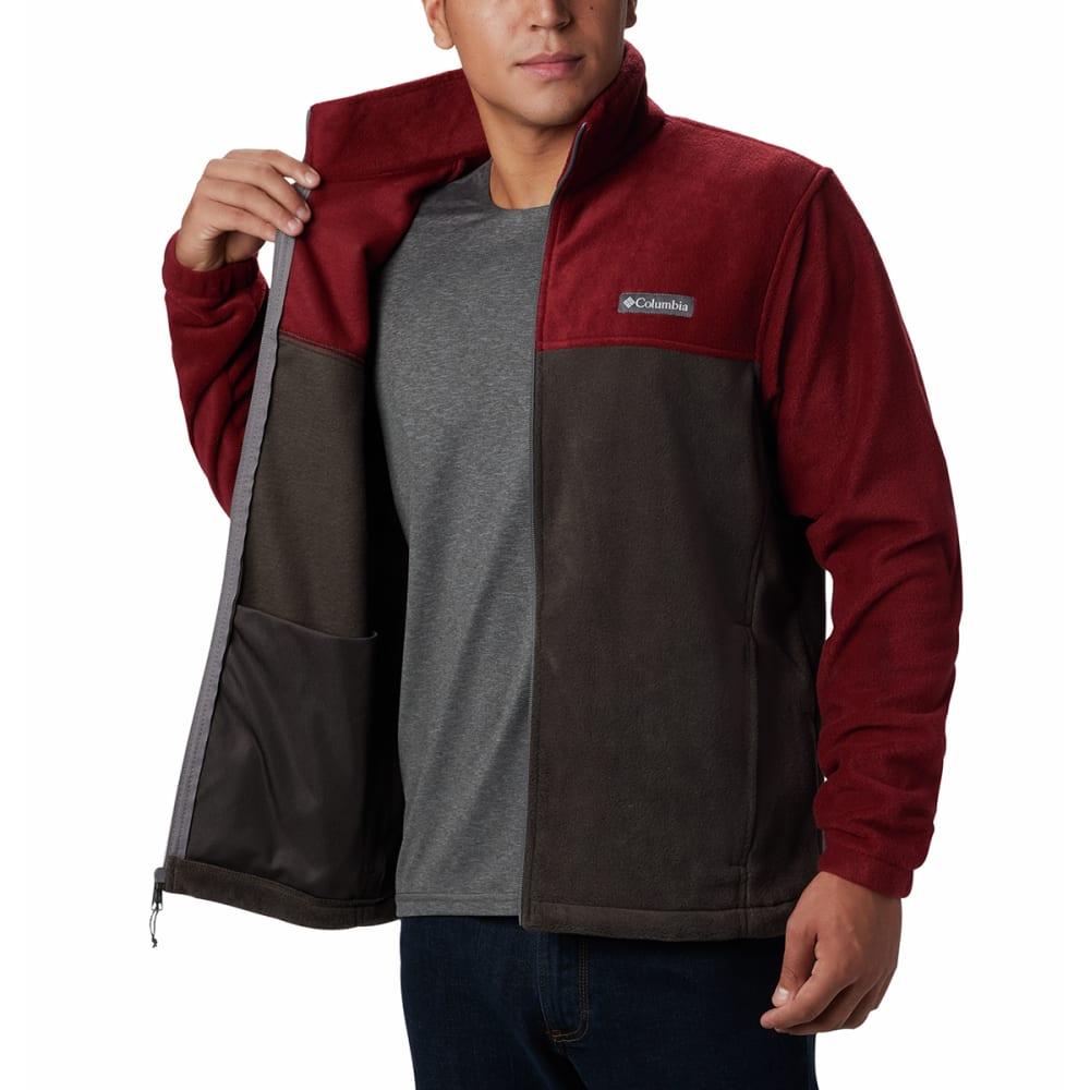 COLUMBIA Men's Steens Mountain Full-Zip  2.0 Fleece Jacket - RED JASPER BUFLO-665