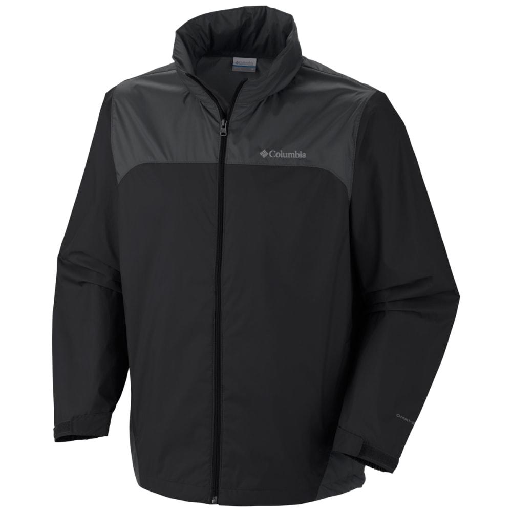 COLUMBIA Men's Glennaker Lake Rain Jacket - BLACK/GRILL-010