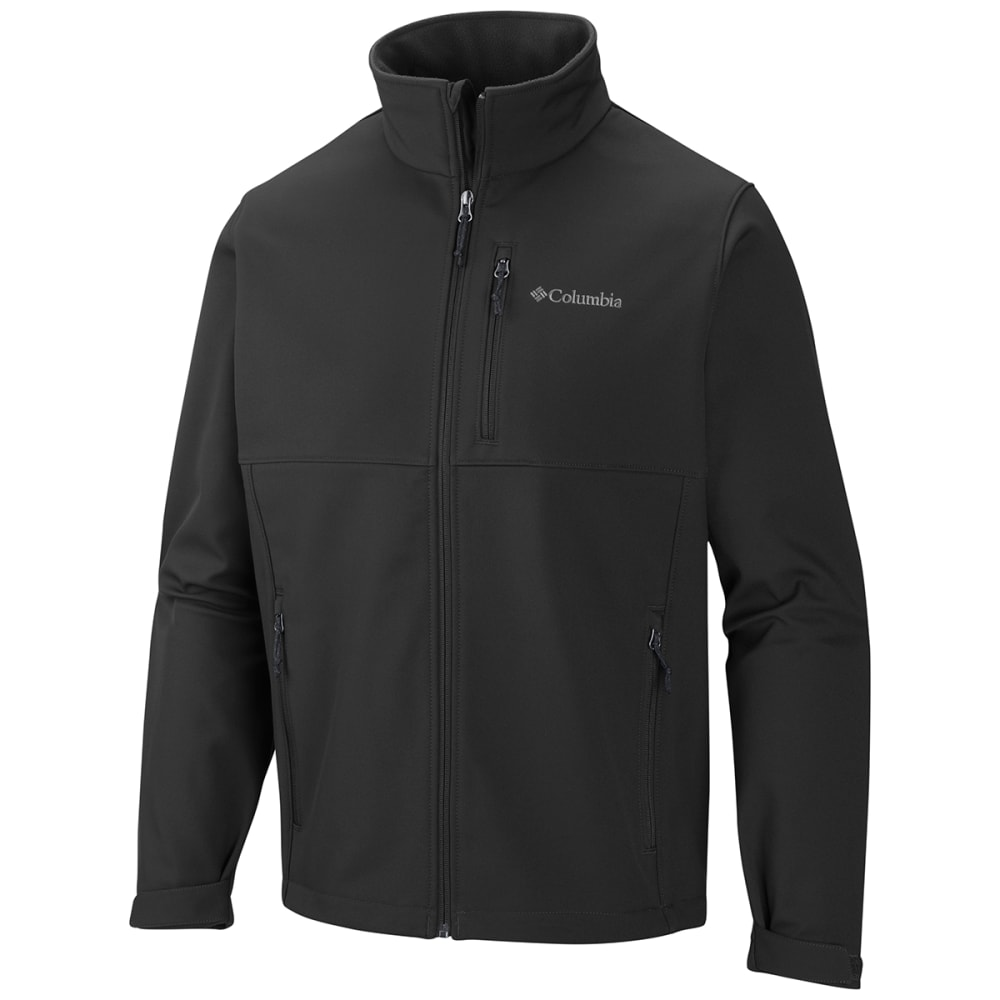 COLUMBIA Men's Ascender Softshell Jacket - 010 BLACK