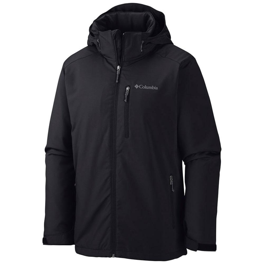 COLUMBIA Men's Gate Racer Softshell Jacket - BLACK-010