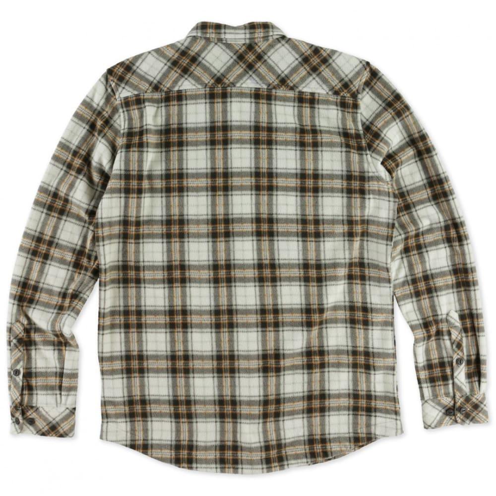 O'NEILL Men's Glacier Long-Sleeve Flannel - WHISKEY