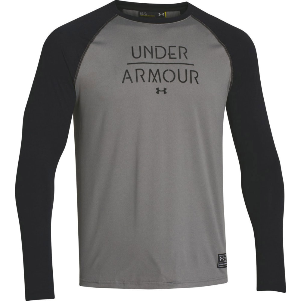 UNDER ARMOUR Men's Halen Long Sleeve - BLACK