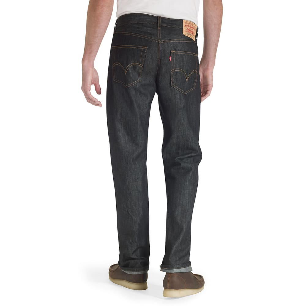 LEVI'S Men's 501 Original Fit Jeans - BLACK STF 0226