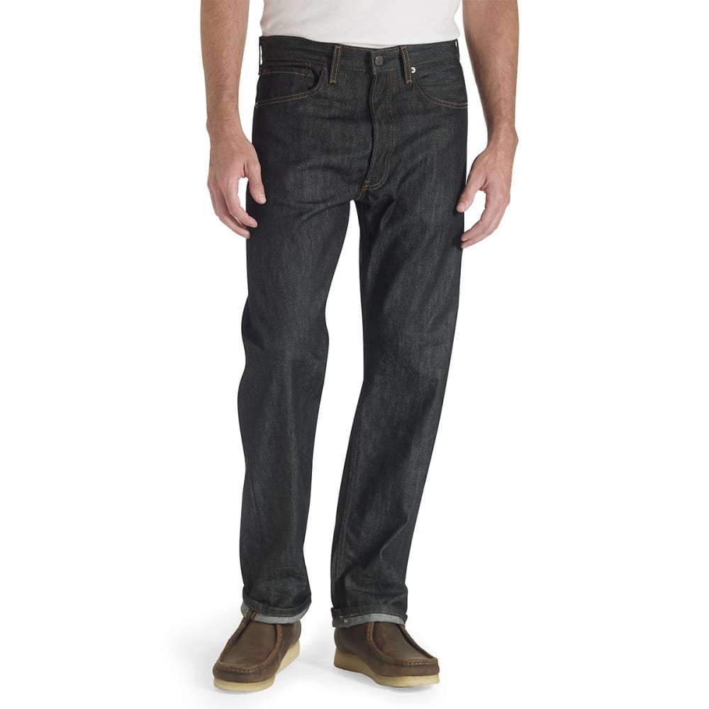 LEVI'S Men's 501 Original Fit Jeans - BLACK STF 0226