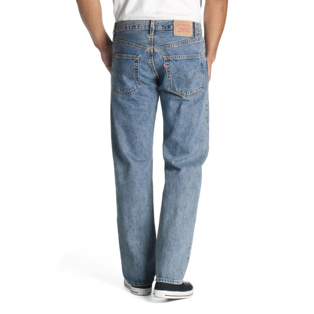 LEVI'S Men's 501 Original Fit Jeans - STONEWASH 0193