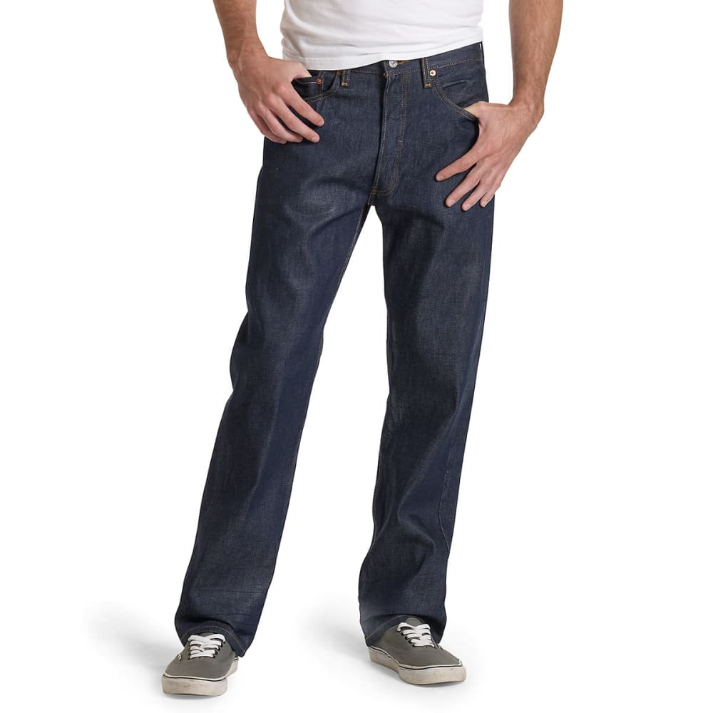 LEVI'S Men's 501 Original Fit Jeans - RIGID STF 0000