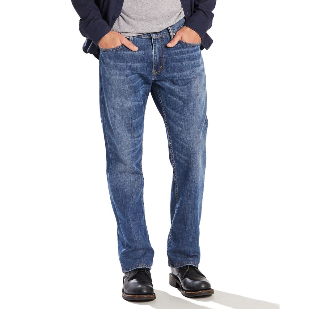 df20c5b2a34a84 LEVI'S Men's 559 Relaxed Straight Jeans - STEELY