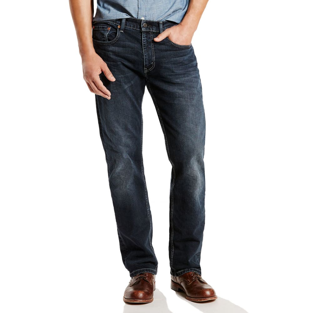 LEVI'S Men's 559 Relaxed Straight Jeans - NAVARRO 0457