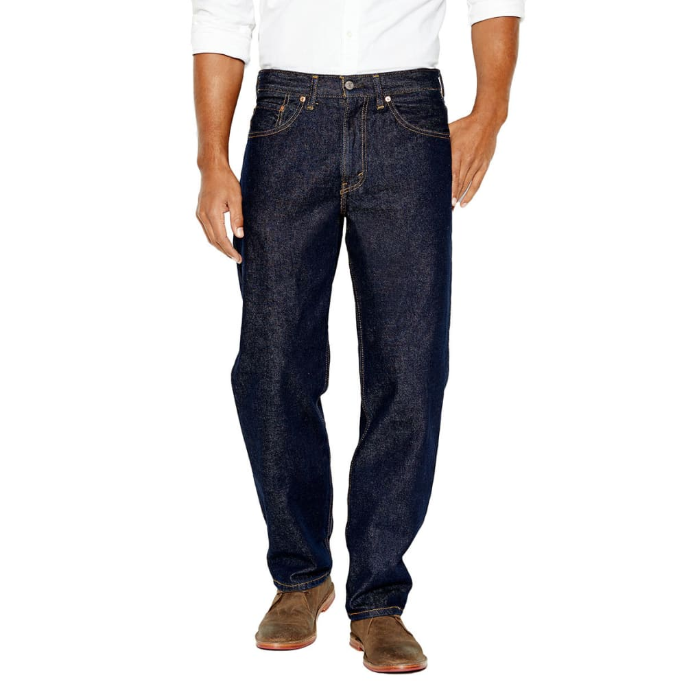 LEVI'S Men's 550 Relaxed Fit Jeans - RINSE 0216