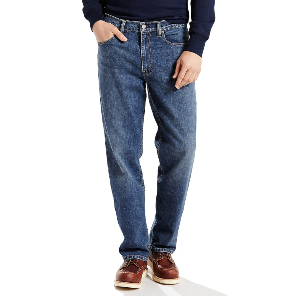 LEVI'S Men's 550 Relaxed Fit Jeans - ROOSTER 0060