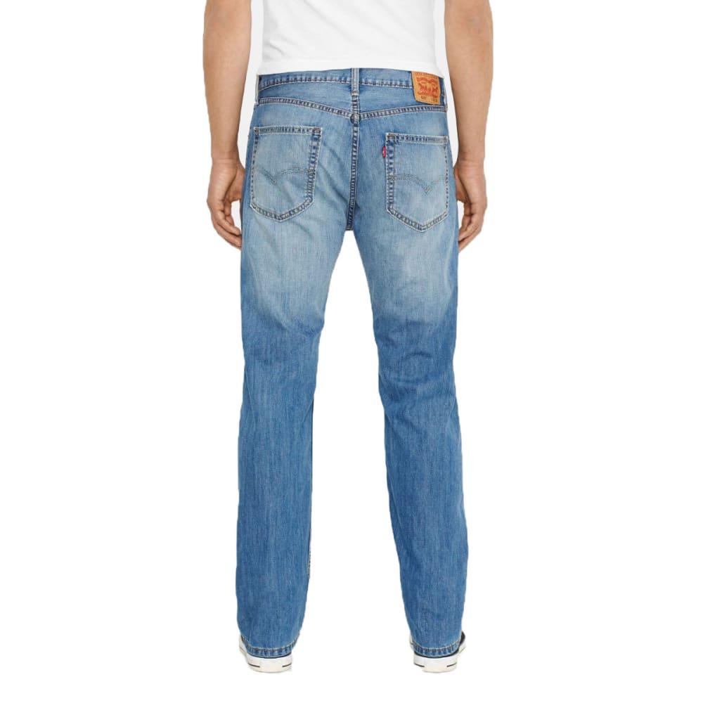 LEVI'S Men's 505 Regular Fit Jeans - CABANA 1087