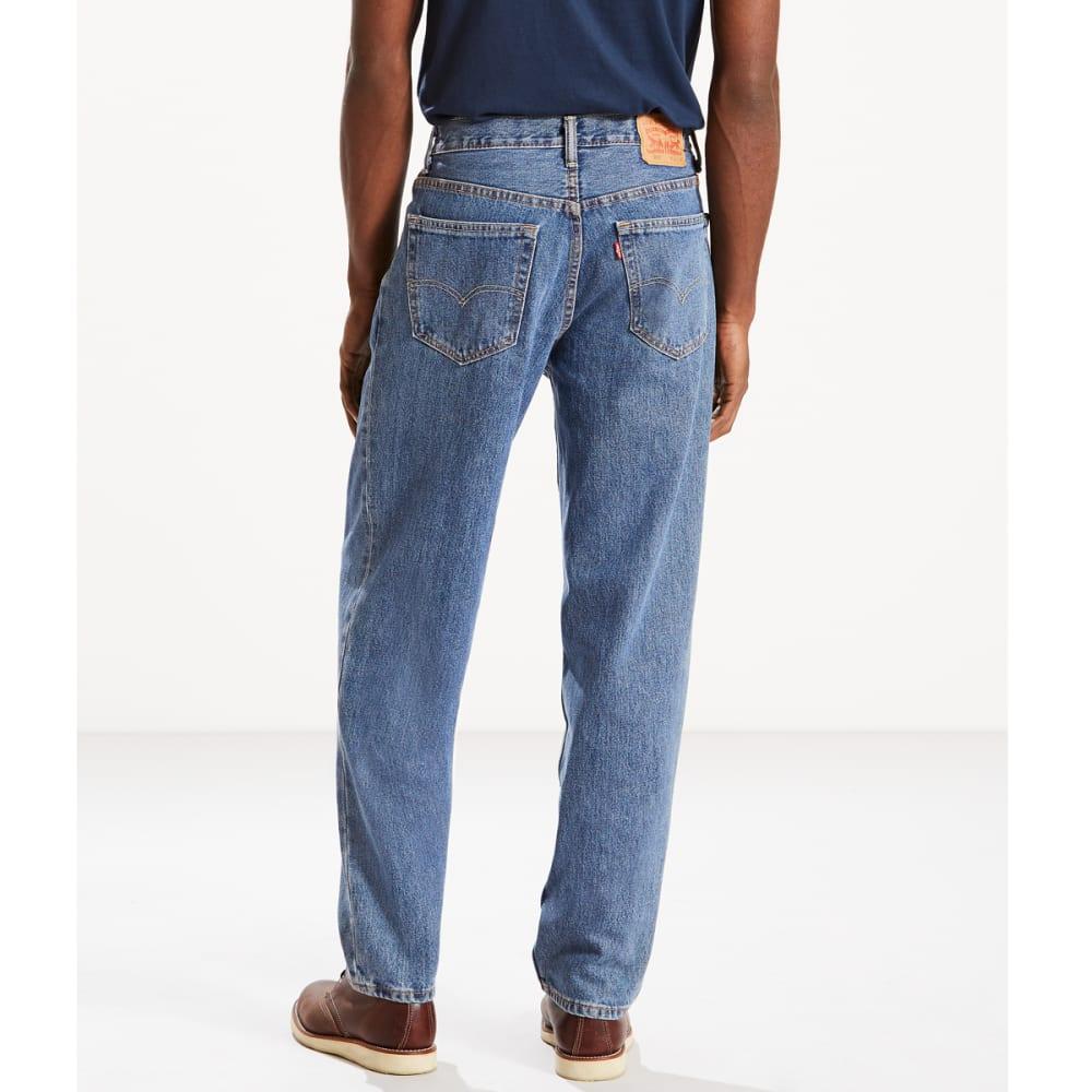 LEVI'S Men's 560 Comfort Fit Jeans - STONEWASH 4891