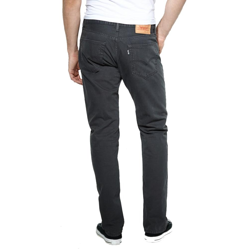 LEVI'S Men's 505 Regular Fit Slub Twill Pants - GRAPHITE 0716