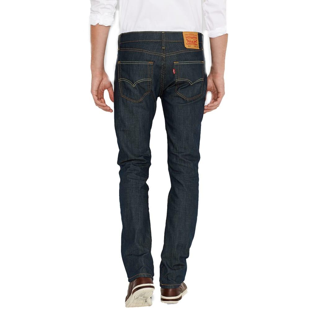 LEVI'S Men's 511 Slim Fit Jeans - RINSED PLAYA 0408