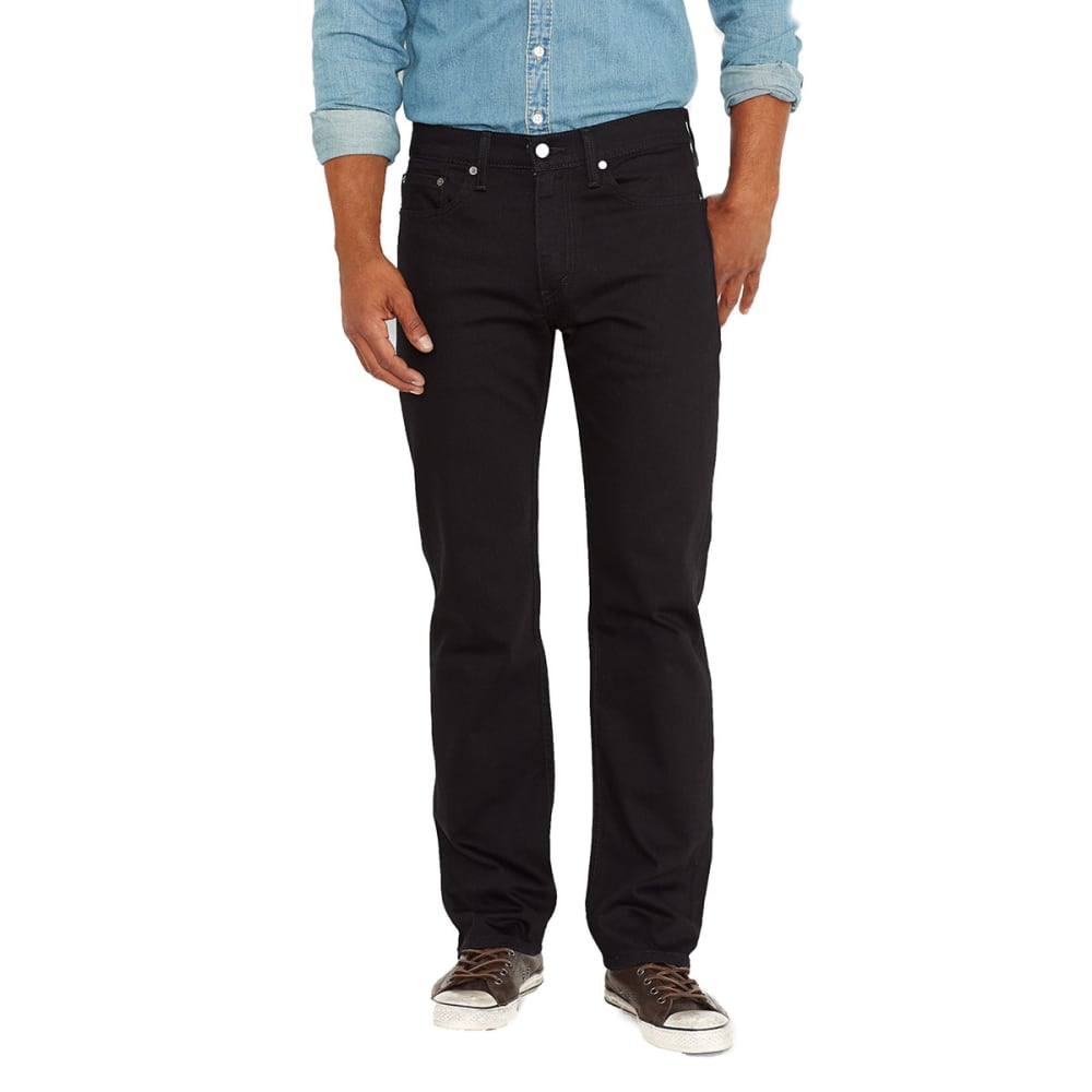 LEVI'S Men's 514 Straight Jeans - BLK/NATIVE 0211-0730