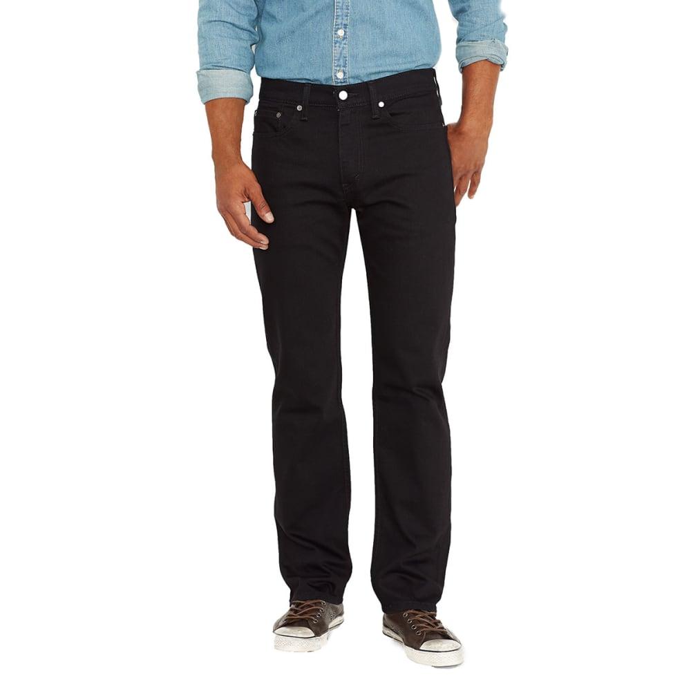 LEVI'S Men's 514 Straight Jeans - BLACK 0211