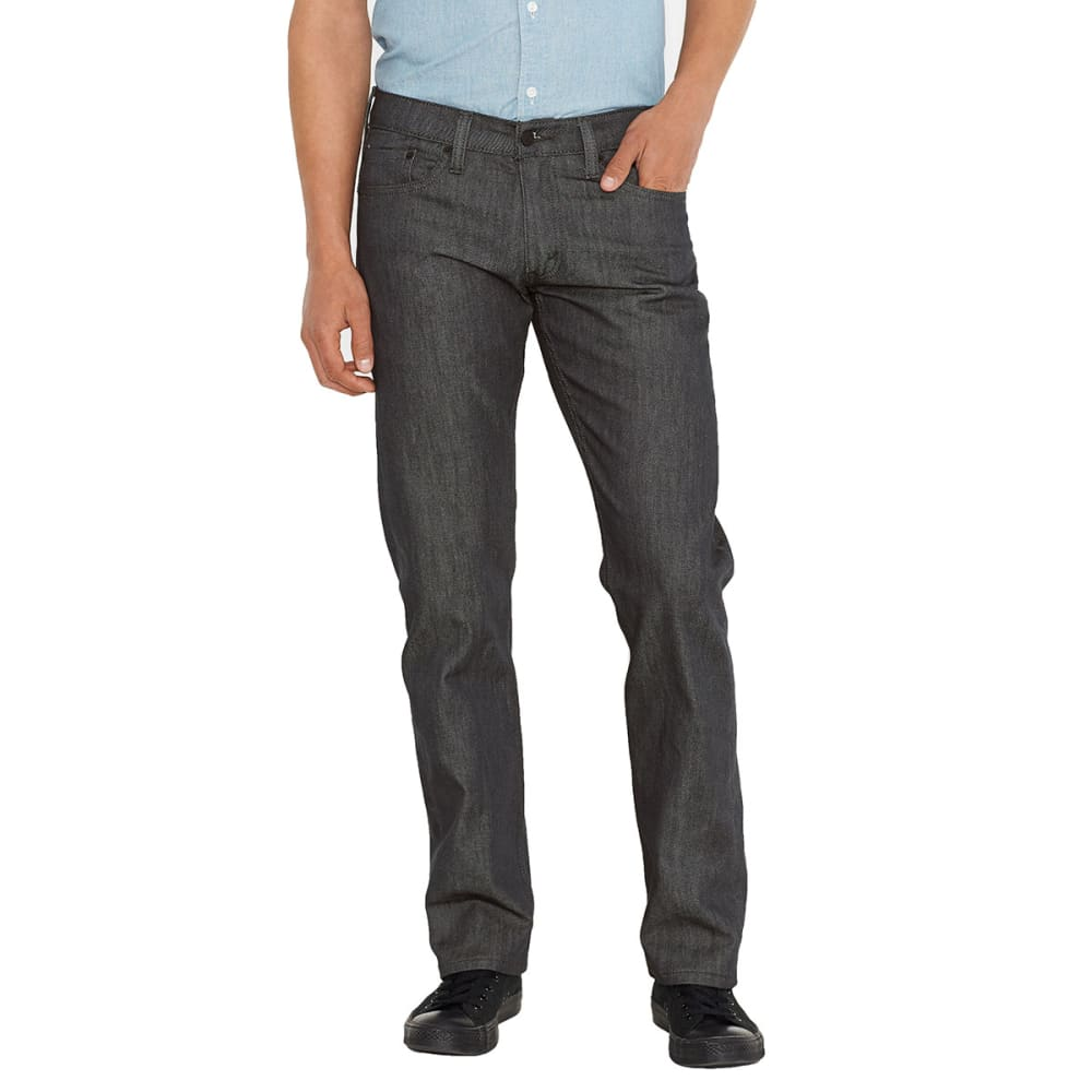 LEVI'S Men's 514 Straight Jeans - RIGID GREY 0435