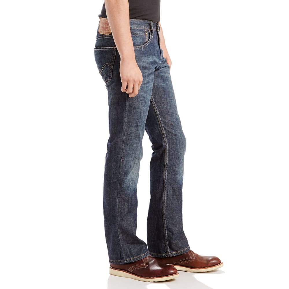 e5113b04574 LEVI'S Men's 527 Slim Bootcut Jeans - Eastern Mountain Sports
