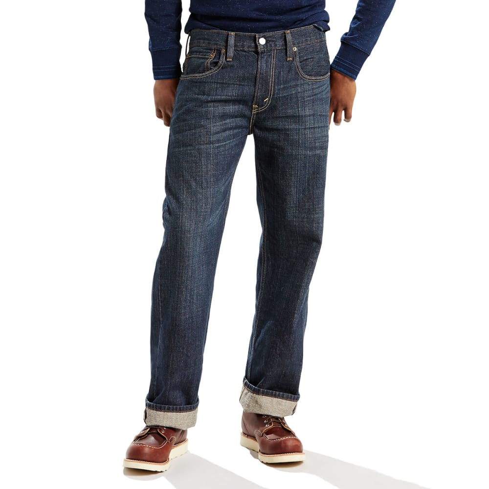 LEVI'S Men's 569 Loose Straight Fit Jeans - DK CHIPPED 0041
