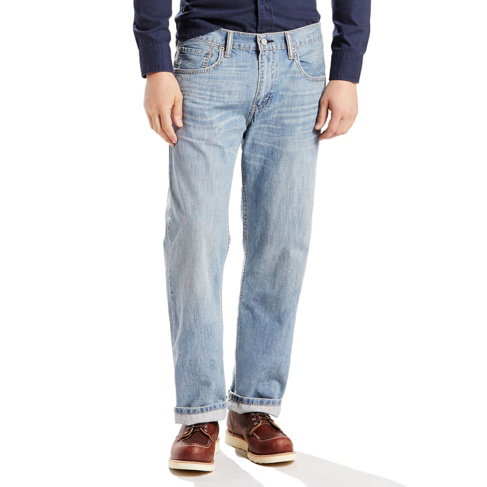 LEVI'S Men's 569 Loose Straight Fit Jeans - VINTAGE LIGHT 0094