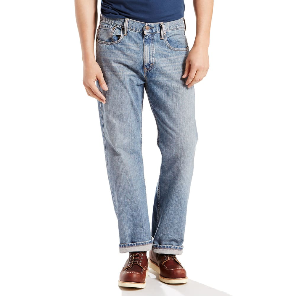 LEVI'S Men's 569 Loose Straight Fit Jeans - JAGGER 0601