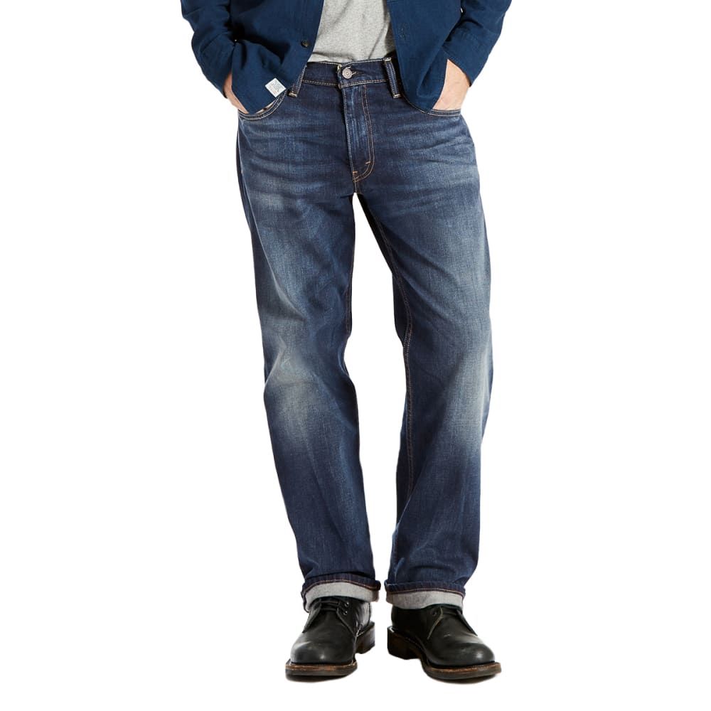LEVI'S Men's 569 Loose Straight Fit Jeans - CROSSTOWN 0242-DROP