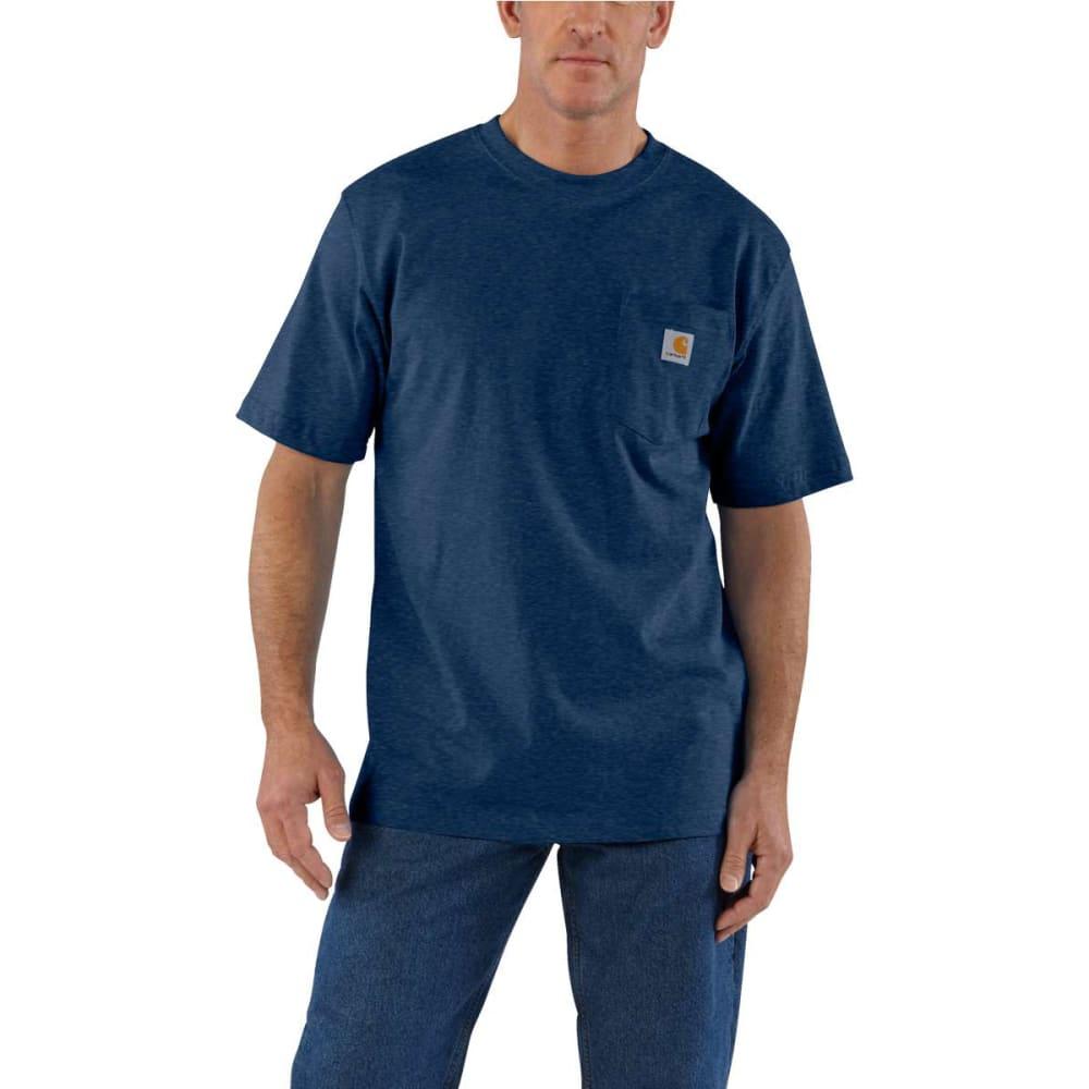 CARHARTT Men's K87 Workwear Pocket Short-Sleeve Shirt M