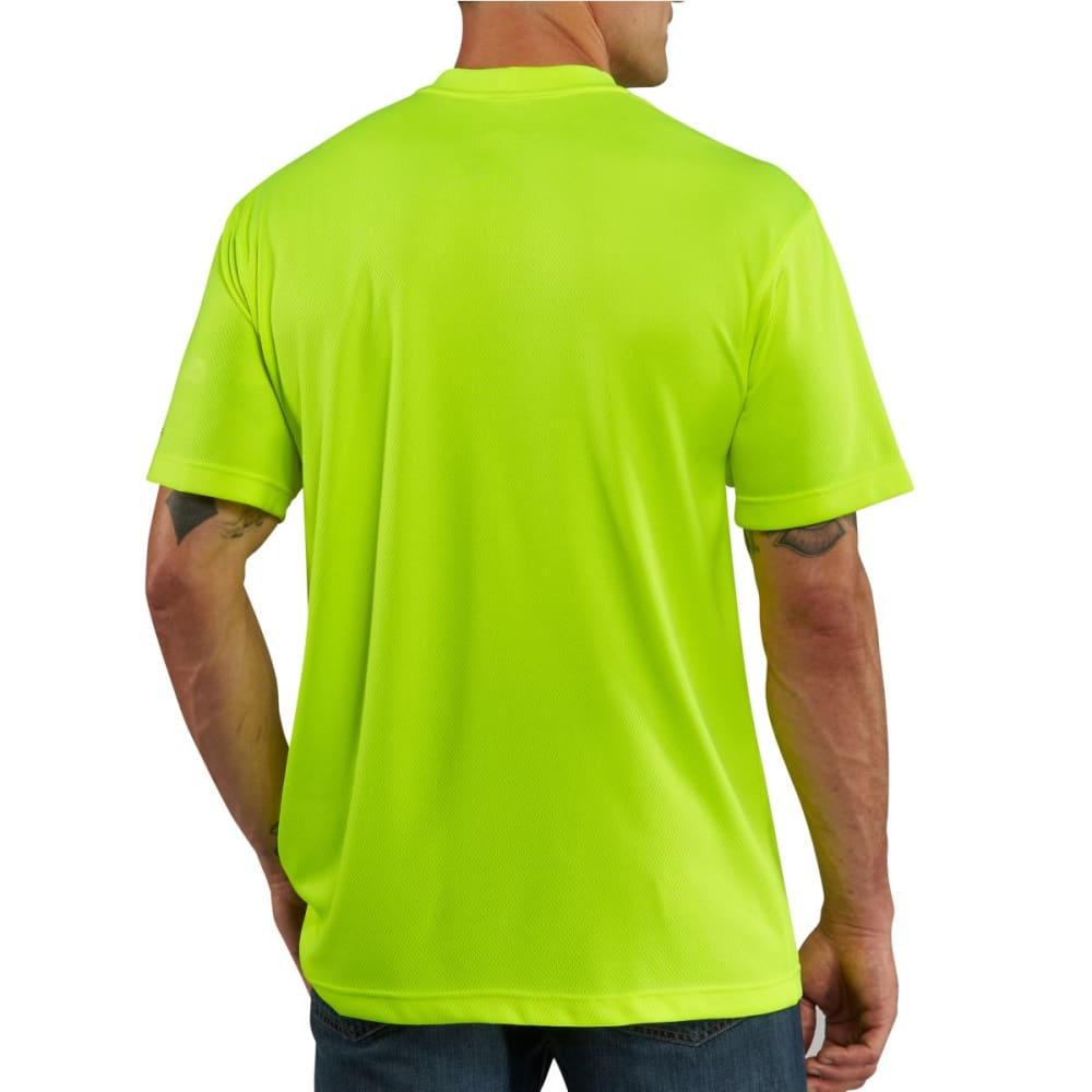 CARHARTT Men's Force Color Enhanced Short-Sleeve T-Shirt - BRIGHT LIME
