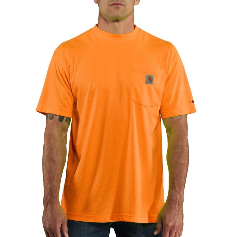 CARHARTT Men's Force Color Enhanced Short-Sleeve T-Shirt - BRIGHT ORG