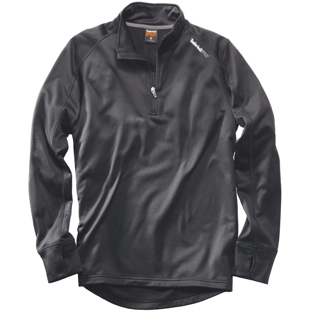 TIMBERLAND PRO Men's Understory Quarter Zip Fleece Shirt - HEATHER GREY