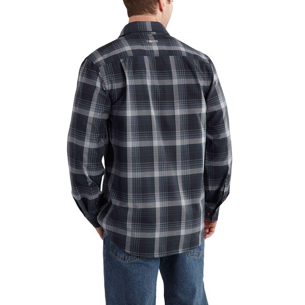 CARHARTT Men's Force Reydell Shirt - NAVY