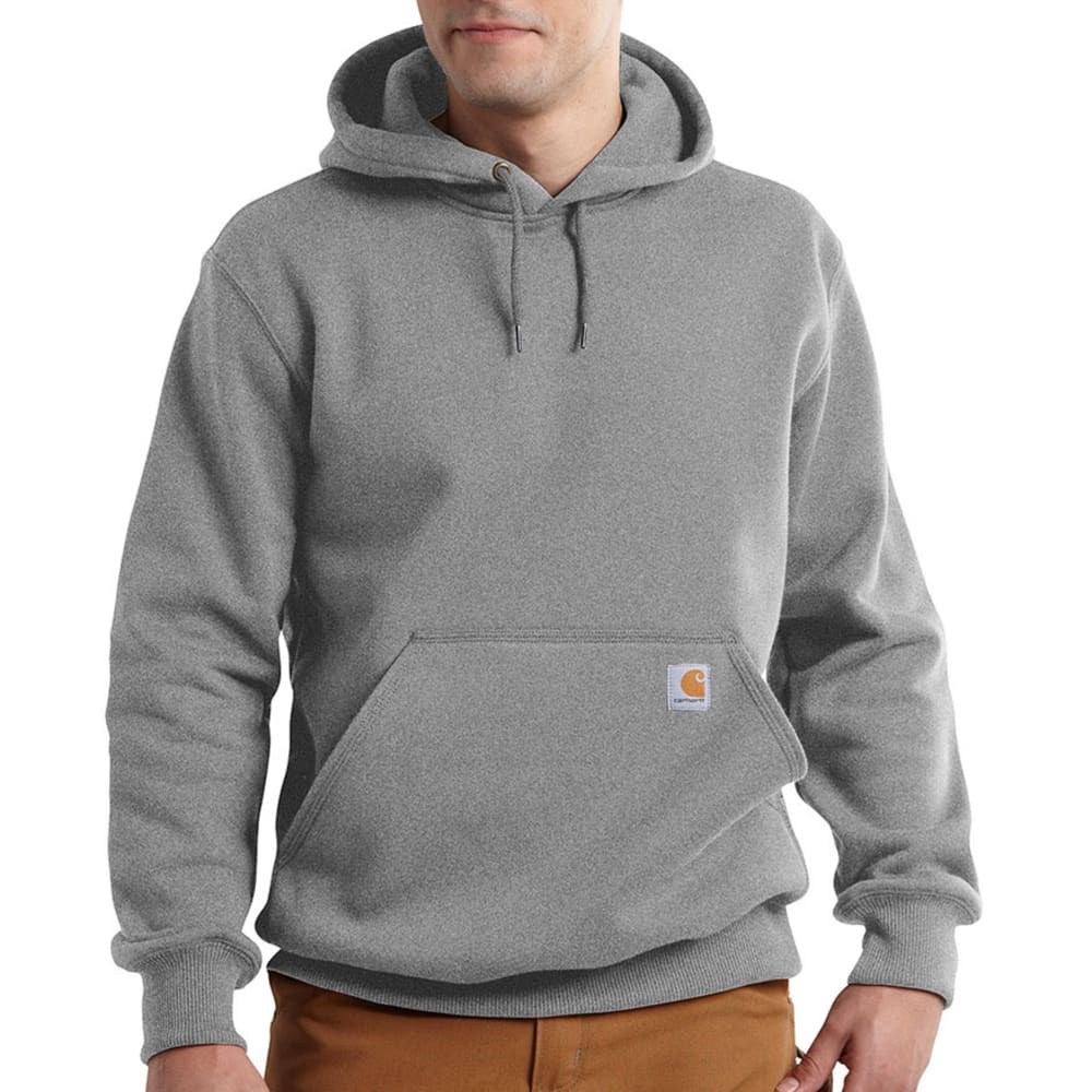 CARHARTT Men's Paxton Hooded Sweatshirt - 034 HEATHER GREY
