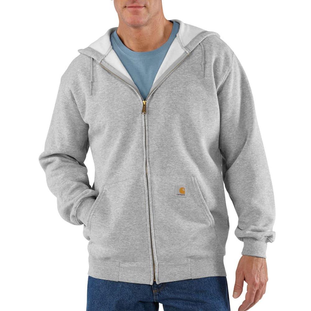 CARHARTT Men's Hooded Sweatshirt - HEATHER GREY