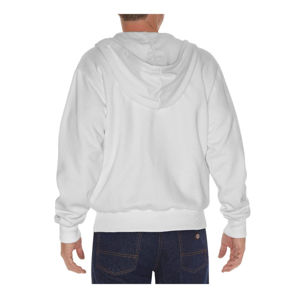 DICKIES Men's Thermal Lined Fleece Hoodie - ASH GRAY