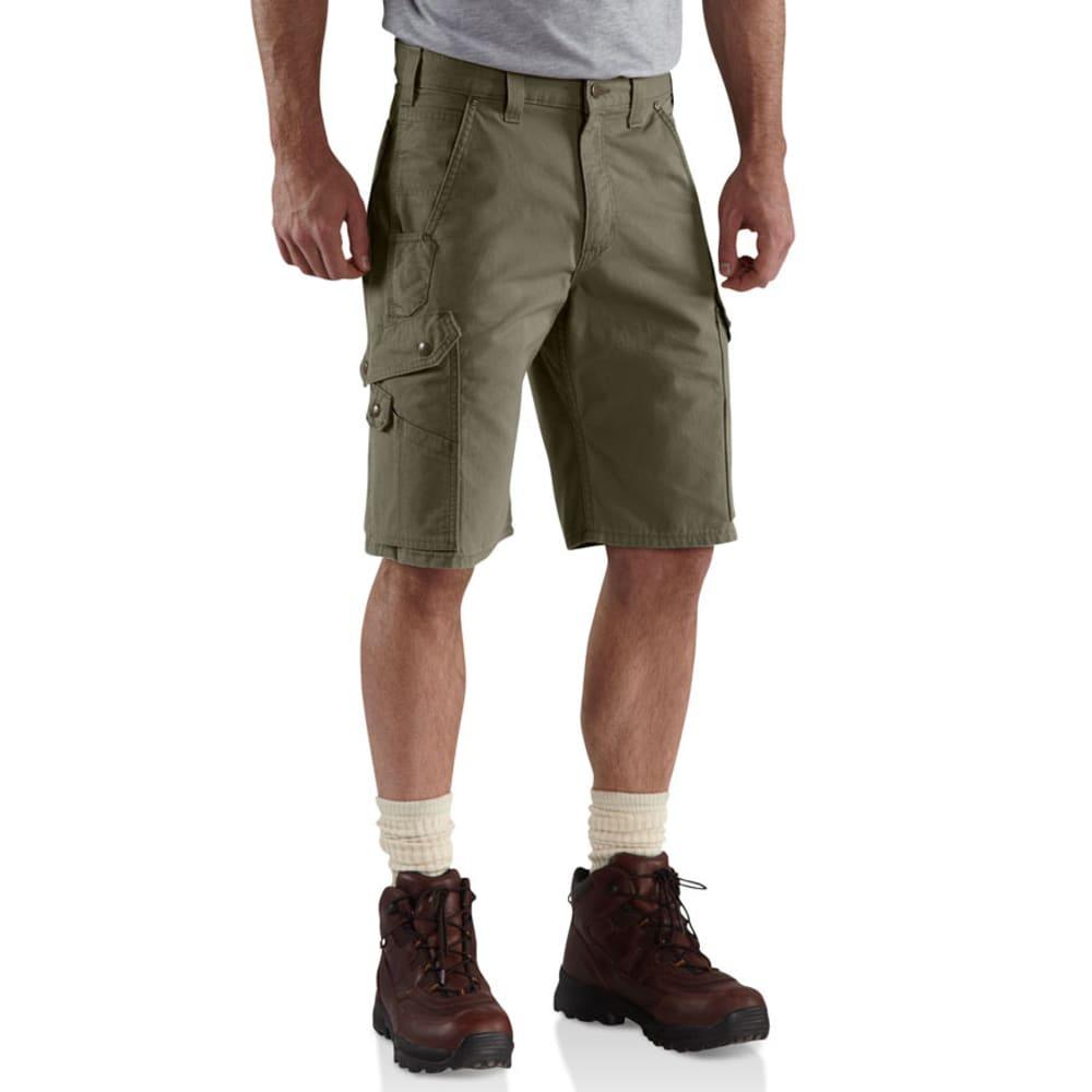 CARHARTT Men's Ripstop Work Shorts - MOSS