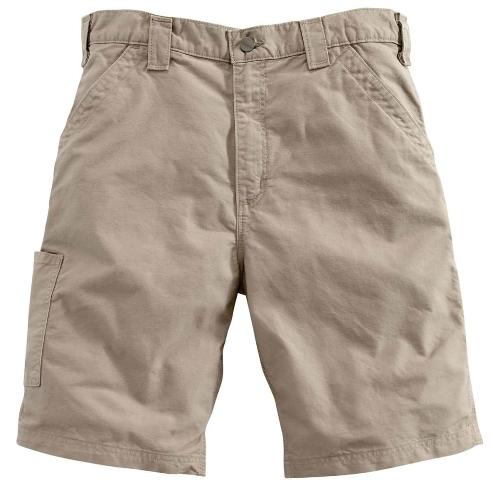 CARHARTT Men's Canvas Work Shorts, 10 in. Inseam - TAN