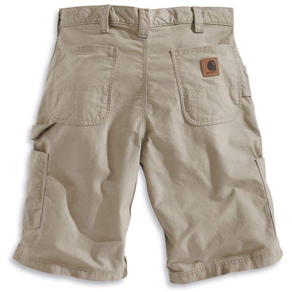CARHARTT Men's Canvas Work Shorts, 10 in. Inseam - TAN