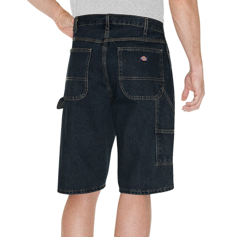 "Dickies DX200 11"" Relaxed Fit Carpenter Short - THK TINTED DENIM BLU"