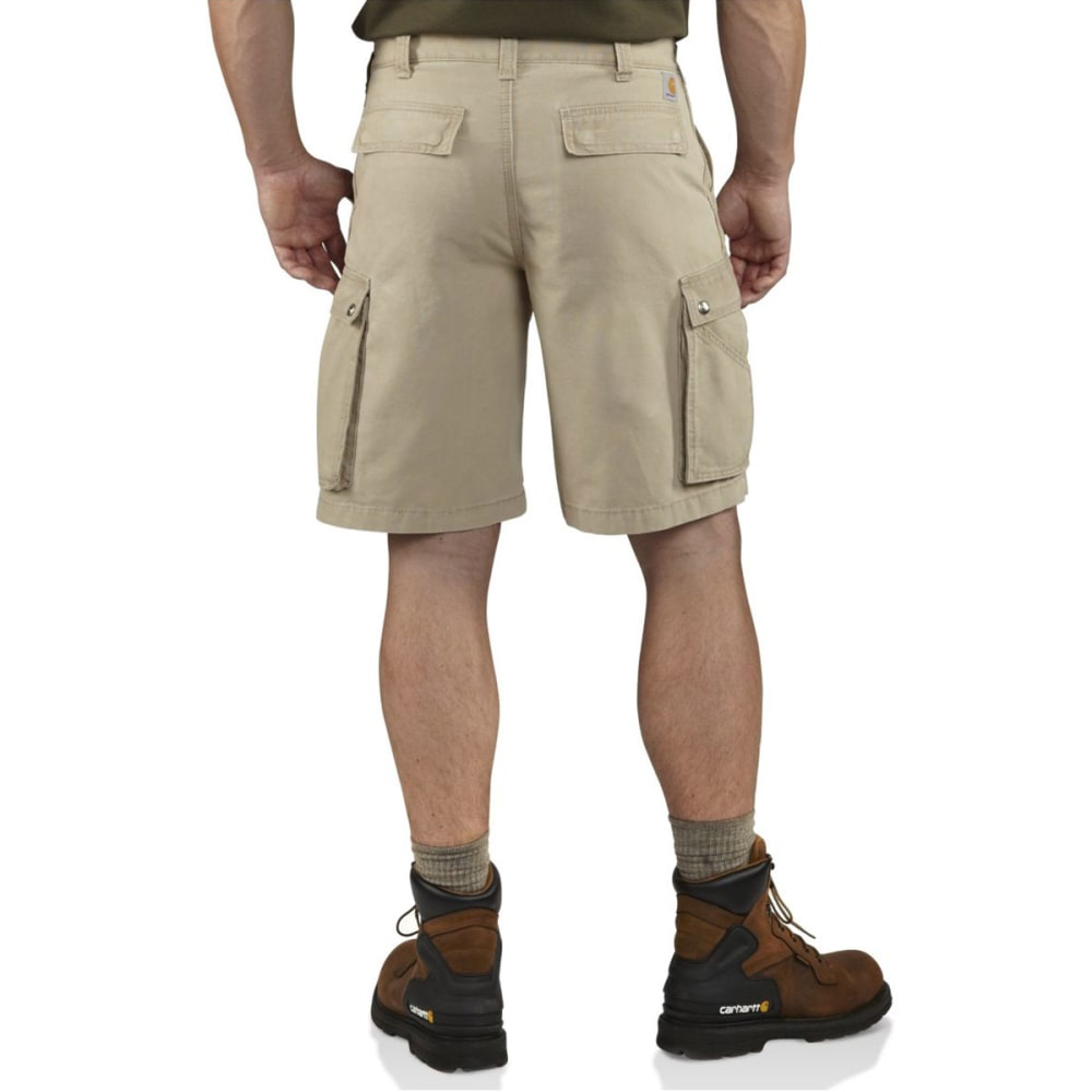 CARHARTT Men's Rugged Cargo Shorts - 232 TAN