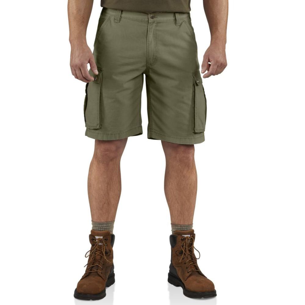 CARHARTT Men's Rugged Cargo Shorts - 301 ARMY GREEN