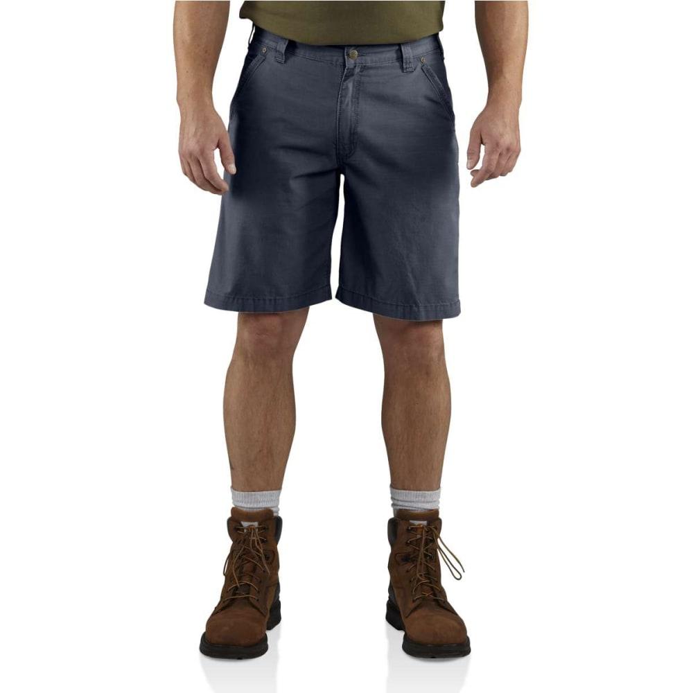 CARHARTT Men's Tacoma Ripstop Shorts - BLUESTONE 470