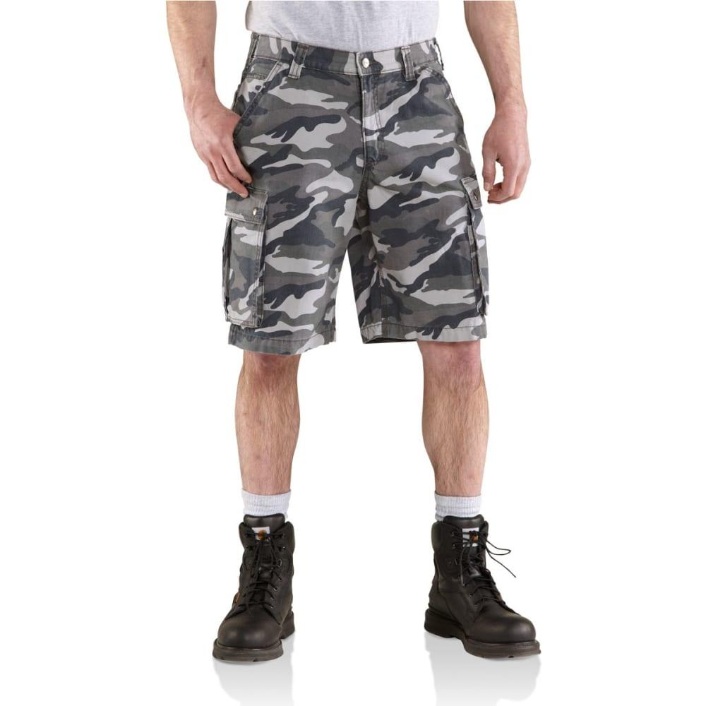 CARHARTT Men's Rugged Cargo Camo Shorts 28