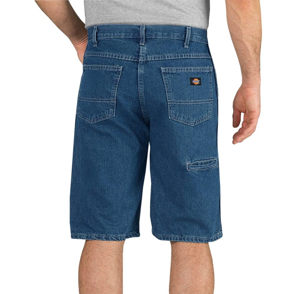 DICKIES Men's Regular Fit Denim Shorts - SNB STONEWASH
