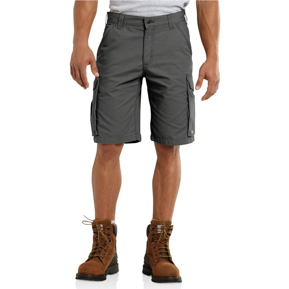 CARHARTT Men's Force Tappen Cargo Shorts - GRAVEL 039